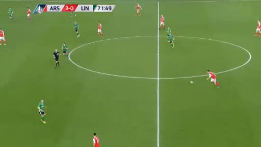 Arsenal Lincoln goals and highlights