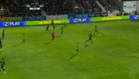 Bas Dost scores in the match Tondela vs Sporting Lisbon