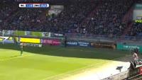 Erik Falkenburg scores in the match Willem II vs Zwolle