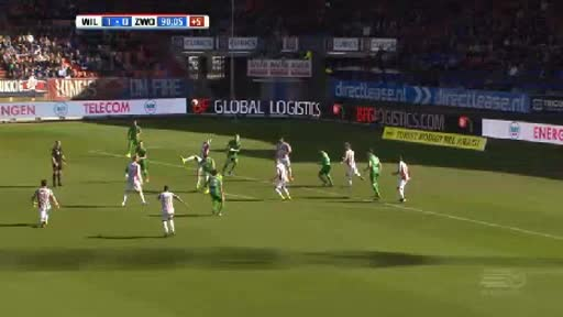 Willem II Zwolle goals and highlights