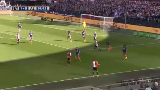 Feyenoord Alkmaar goals and highlights