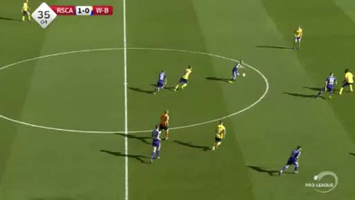 Anderlecht Waasland goals and highlights