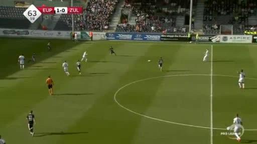 Eupen Waregem goals and highlights