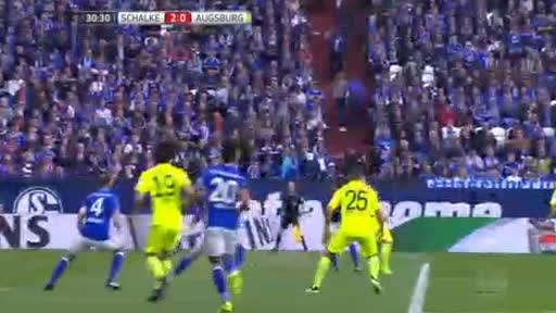 Schalke Augsburg goals and highlights
