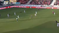 Michael Lang scores in the match Sion vs Basel