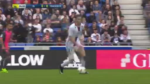 Lyon Toulouse goals and highlights