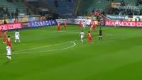 Ozgur Cek scores in the match Rizespor vs Antalyaspor