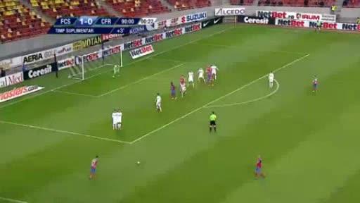 Steaua Bucharest CFR Cluj goals and highlights
