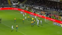 Rafael Miranda scores in the match Guimaraes vs Estoril