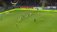 Matheus da Cunha Gomes scores in the match Guimaraes vs Estoril