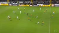 Moussa Marega scores in the match Guimaraes vs Estoril