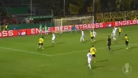 Andre Schurrle scores in the match Lotte vs Dortmund