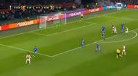 Bertrand Traore scores in the match Ajax vs FC Copenhagen