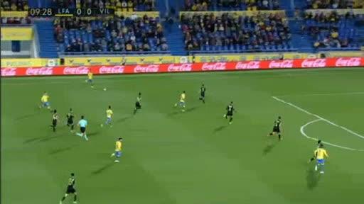 Las Palmas Villarreal goals and highlights