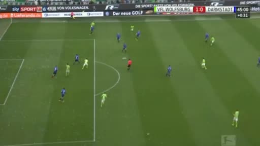 Wolfsburg Darmstadt 98 goals and highlights