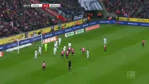 Köln Hertha Berlin goals and highlights