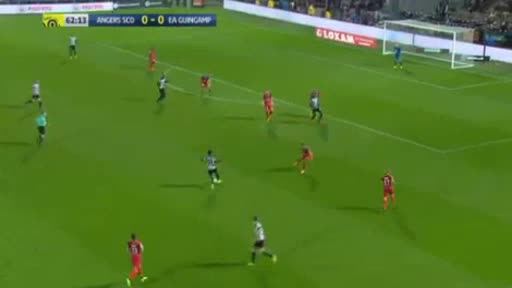 Angers Guingamp goals and highlights