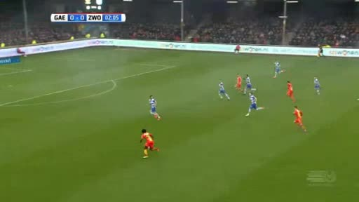 G.A. Eagles Zwolle goals and highlights