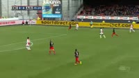 Kenny Tete scores own goal in the match Excelsior vs Ajax