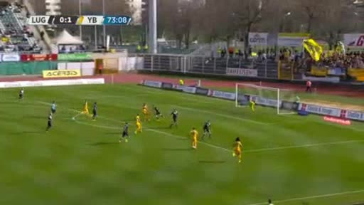 Lugano Young Boys goals and highlights