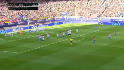 Atletico Madrid Sevilla goals and highlights