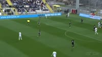 Franko Andrijasevic scores in the match Rijeka vs Belupo