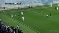 Aleksandar Jovicic scores own goal in the match Rijeka vs Belupo