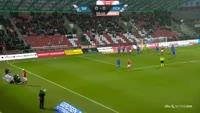 Ibrahim Moro scores in the match Silkeborg vs FC Copenhagen