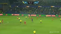 Kamil Wilczek scores in the match Brondby vs Lyngby