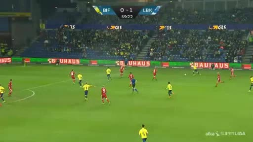 Brondby Lyngby goals and highlights