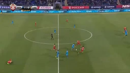 Zenit Petersburg Arsenal Tula goals and highlights