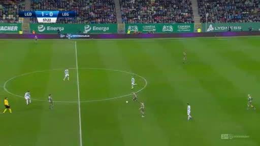 Lechia Legia goals and highlights