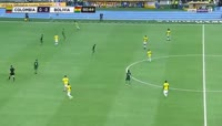 James Rodriguez scores in the match Colombia vs Bolivia