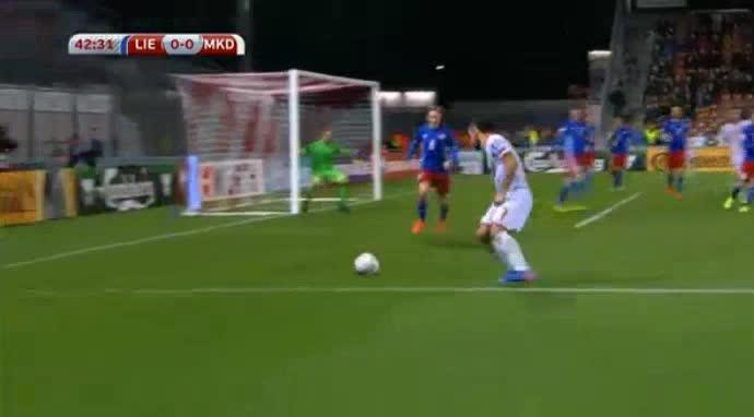 Liechtenstein FYR Macedonia goals and highlights