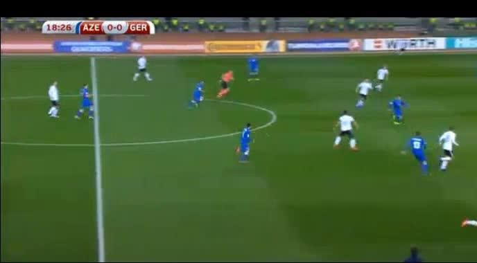 Azerbaijan Germany goals and highlights