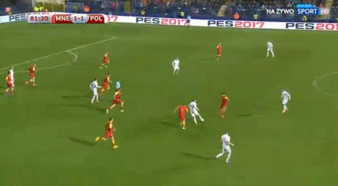 Montenegro Poland goals and highlights