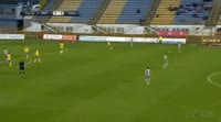 Zoran Nizic scores in the match Zapresic vs Hajduk Split