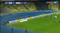 Artem Besiedin scores in the match Dynamo Kiev vs Olimpik Donetsk