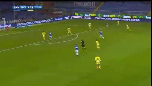 Sampdoria Pescara goals and highlights