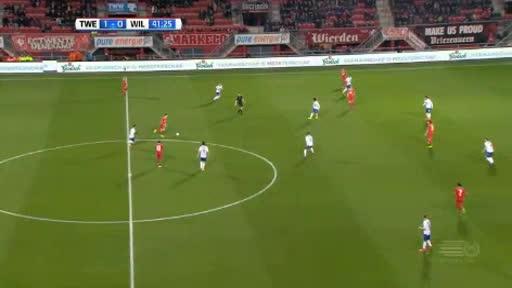 Twente Willem II goals and highlights