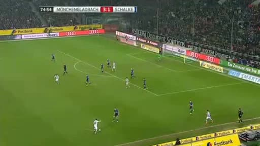 Borussia Moenchengladbach Schalke goals and highlights