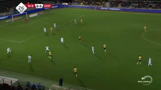 Waasland Gent goals and highlights