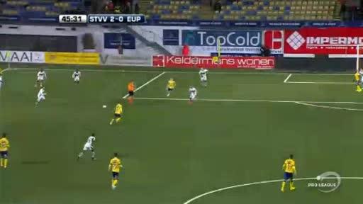 St. Truiden Eupen goals and highlights
