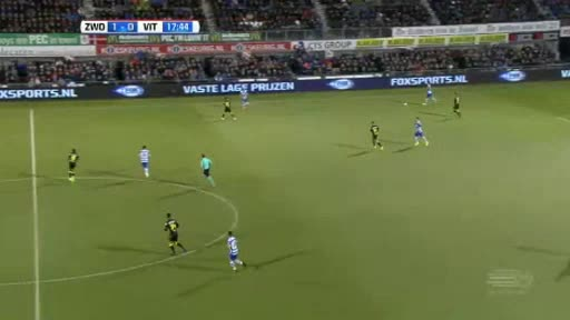 Zwolle Vitesse goals and highlights