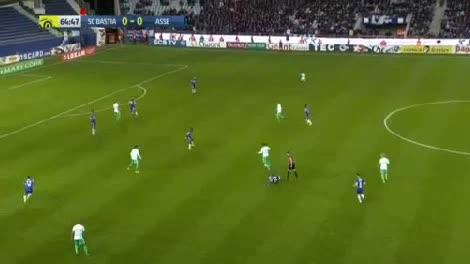 CA Bastia St. Etienne goals and highlights