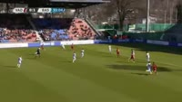 Albion Avdijaj scores in the match Vaduz vs Basel