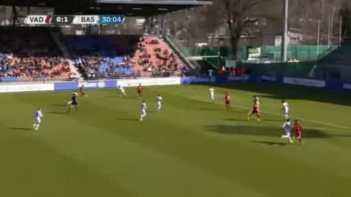 Vaduz Basel goals and highlights