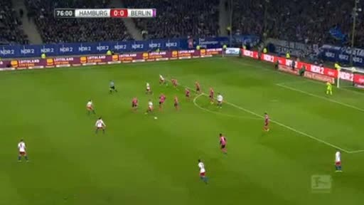 Hamburger Hertha Berlin goals and highlights