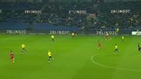 Godsway Donyoh scores in the match Brondby vs Nordsjaelland