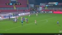 Damien Le Tallec scores in the match Vojvodina vs Crvena zvezda